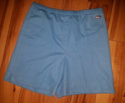 Womens Vintage Haymaker Lacoste Shorts Size 10 Blue Golf Tennis 70s