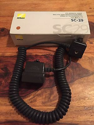 Nikon SC-29 Flash Cable Remote Cord