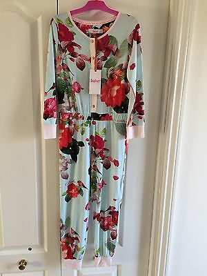 Ted Baker Girls Floral All In One. 6-7 Years. BNWT. Designer