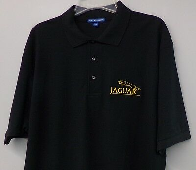 Jaguar British Land Rover Embroidered Mens Polo Shirt S-6XL, LT-4XLT New
