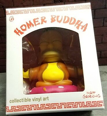 Homer Buddah Kidrobot The Simpsons Collectible Vinyl Art