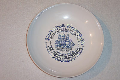 ATLANTIC PACIFIC TRANSPORTATION LINE Plate New York to San Francisco, Australia