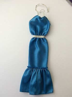 Barbie doll 1984 Fashion Fun #4806 Showstopper Blue Dress vintage dolls clothes