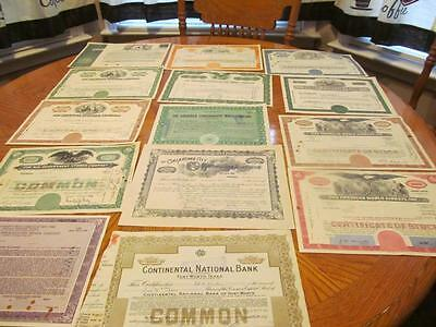 25    Bonds /   Stock Certificates; All Different;lot # 8