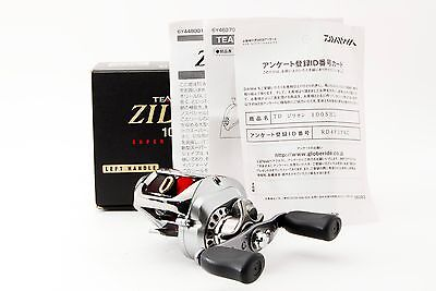"DAIWA ""ZILLION 100SHL"" 7.1 Left Handed baitcasting reel [Excellent] From Japan"
