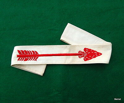 Vintage Boy Scout Order Of The Arrow Ordeal Sash - Soiled
