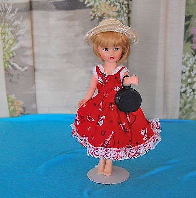 "Vintage Woolworth's Little Miss Marie 10"" Highheel Doll*little Miss Ginger Clone"