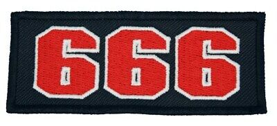 """Hells Angels Support 81 Patch Patches """" 666 """" P16"""