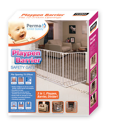 Perma Child Safety Multi Purspose Barrier 749