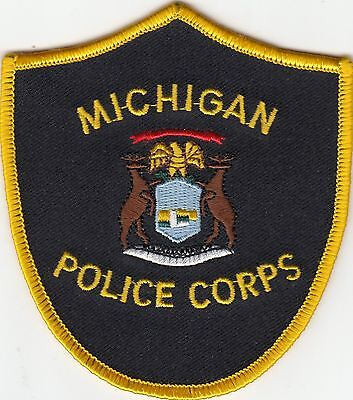 Michigan Police Corps Shoulder Patch Mi