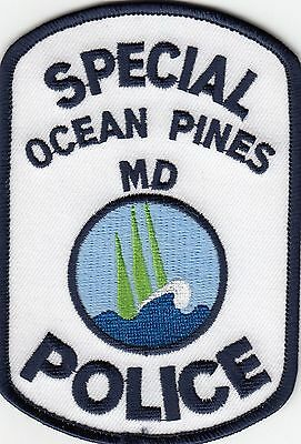 Ocean Pines Special Police Shoulder Patch Maryland Md