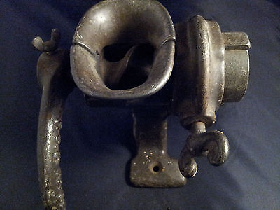 P S and W Company Cast Iron Grinder