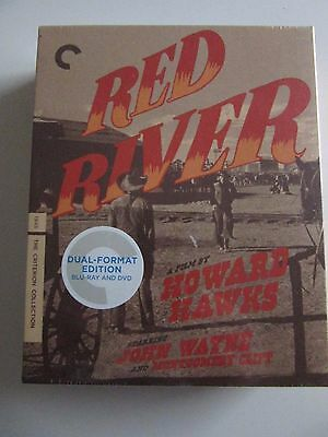 Red River (Blu-ray/DVD, 2014, 2-Disc Set, Criterion Collection)