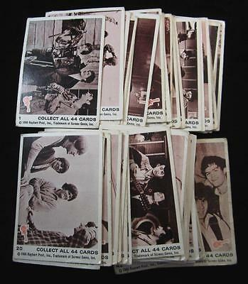 P958 - The Monkees Trading Cards - Set Of 44 - Nr