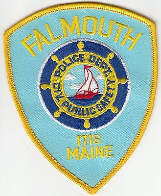 Falmouth Maine Police Public Safety Dept Shoulder Patch Me