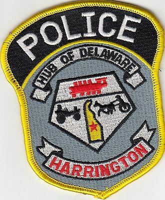 Harrington Delaware De Police Shoulder Patch