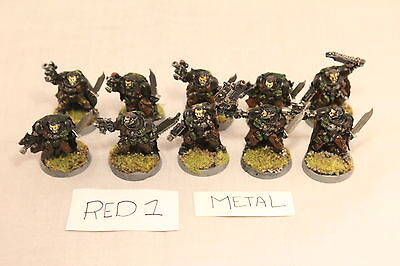 Warhammer Space Marine Scouts with Custom Cloaks Well Painted