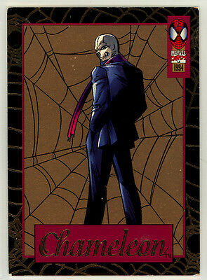 Spider-Man First Edition Fleer Gold Web hobby retail chase card #4 (1994)