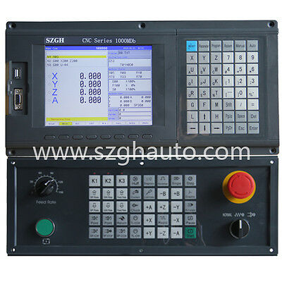 Best price ATC and PLC 4 Axis/Four axisCNCMillingMachineController cnc kit