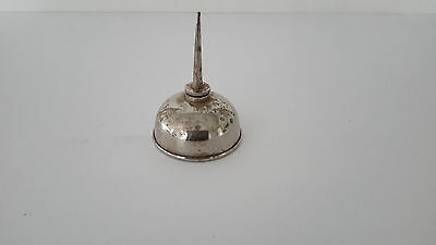 Vintage Antique Old Miniature Oil Can with Spout