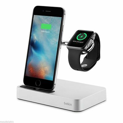Official Belkin Valet Charge Dock for Apple Watch + iPhone  quick charger dock