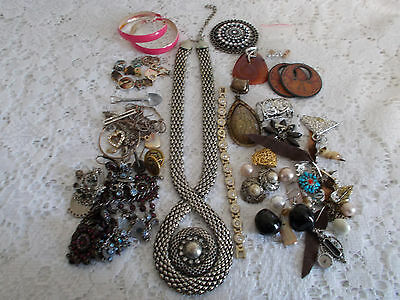Bulk Jewellery for Repair, Jewellery Making or Craft, approx. 420g