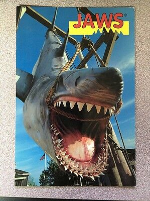 Universal Studios Postcard Jaws Catch Of The Day!