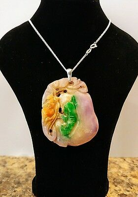Chinese Jade/Jadeite/natheite pendant come from a 40+ years old collection