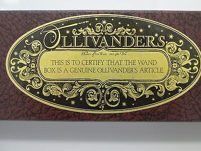 OLLIVANDER'S WAND BOX PROP HARRY POTTER PHILOSOPHER'S STONE SORCERER'S John Hurt