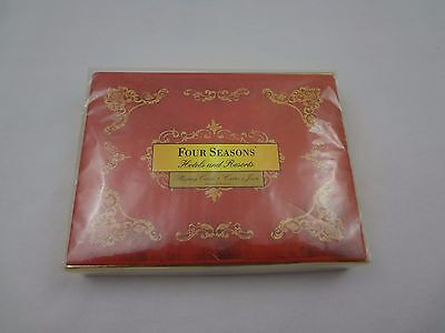 Four Seasons Hotel Hotels Resorts Double Deck Complete Playing Cards ~ Sealed ~