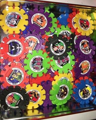 50 Woolworths MARVEL HEROES DISCS Mixed For Playing