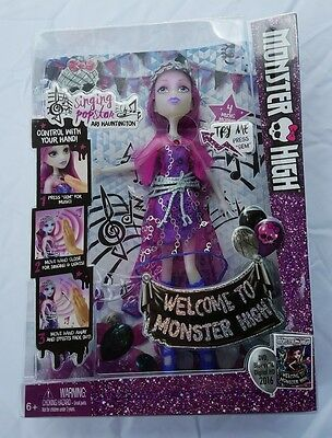 Monster High Ari Hauntington Singing Popstar Doll Fright Away Dance