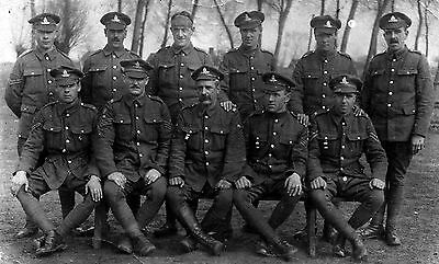 WW1 WWI soldiers Royal Garrison Artillery RGA