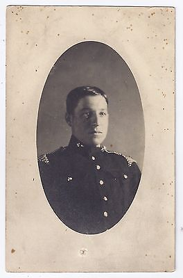 WW1 WWI British soldier with braid epaulettes