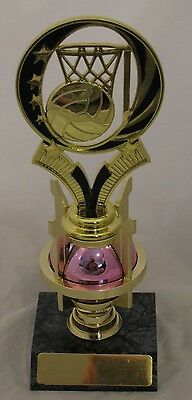 Netball Trophy 222mm Engraved FREE