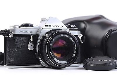 Pentax ME Super 35mm Film Camera 50mm f2 Pentax-M Lens Student Street Tested