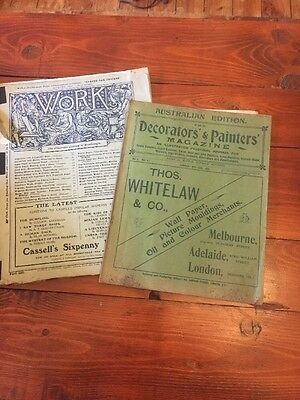 Vintage Craft Decorators Magazine Early 1900's Great Advertisements