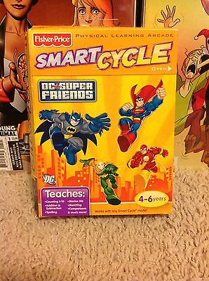Fisher Price Smart Cycle DC Super Friends Game New In Box