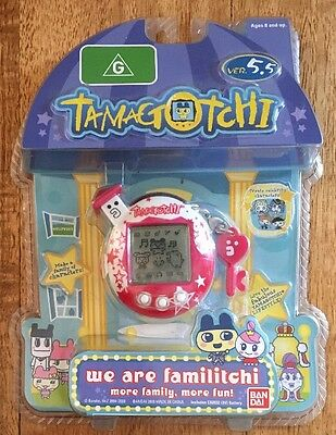 Bandai TAMAGOTCHI Version 5.5 with Celebrity Characters - NEW & SEALED