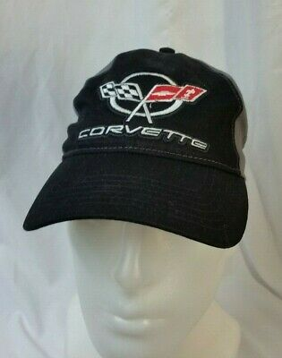 Corvette Chevrolet Gm Hat Cap Racing Flags General Motors