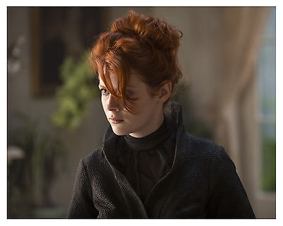 "( INTO THE BADLANDS ) -( EMILY BEECHAM ) ""The Widow"" 8x10 Photo"