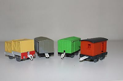 Thomas The Tank Engine Trackmaster x4 Box Carriages
