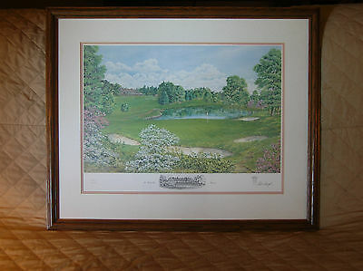 """BALTUSROL  GOLF  COURSE  """"THE  FOURTH  HOLE""""  BY:  BILL  WAUGH  #85 of 850  LE"""