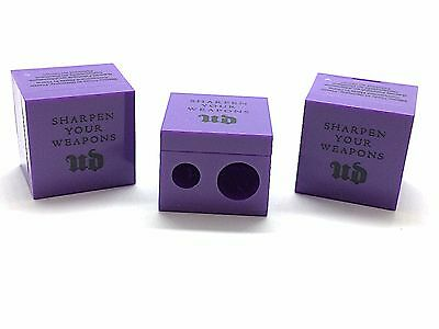NEW Lot of 3X Urban Decay Dual Pencil Sharpeners