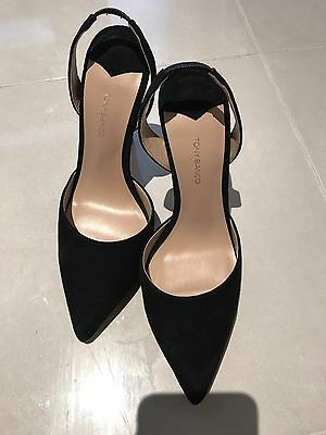 Tony Bianco 7.5 High Heels Leather Shoes/sandals