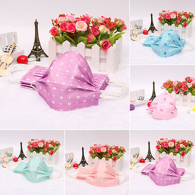 Cute Disposable Surgical Dust Face Elastic Ear Loop Respirator Medical Mask
