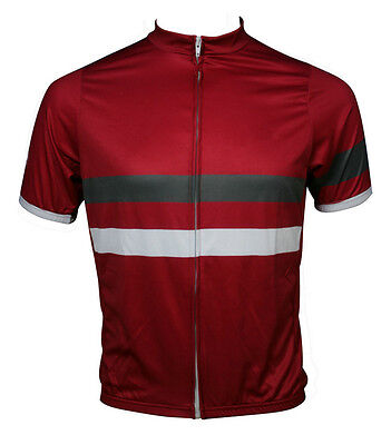 New Mens Racing Bicycle Cycling Polyester Short Sleeve Jersey T-shirt