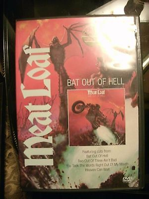 DVD Meat Loaf Bat Out of Hell