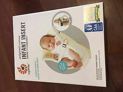 Ergo Baby Carrier Infant Insert - Used Once!
