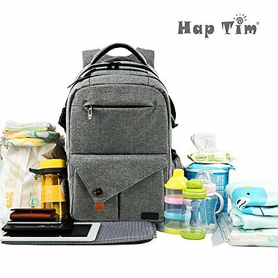 Hap Tim Mummy Travel Multi-Function Large Baby Diaper Bag Backpack Waterproof